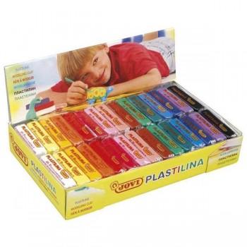 Caja 30 plastilinas Jovi colores surtid