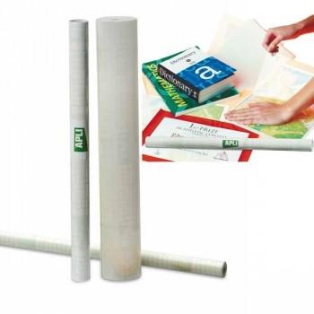 Rollo forro Libros transparente Adhesivo reposicionable-present APLI med 1,5x0,33