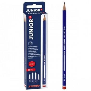 Estuche 12 lapices grafito junior hb
