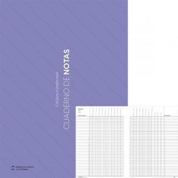 Cuaderno notas con Funda Portadocumentos y calendario A4