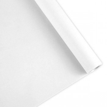 Rollo papel embalaje kraft  ancho 1,10m 41k 500m blanco