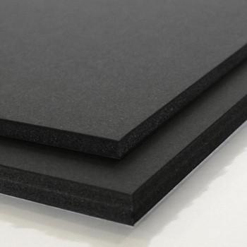 Lámina cartón Pluma classic  5mm 50X65cm  negro