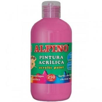 ALPINO Tempera liquida 250ml. acrilica MAGENTA