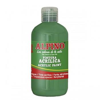 ALPINO Tempera liquida 250ml. acrilica VERDE PRADO