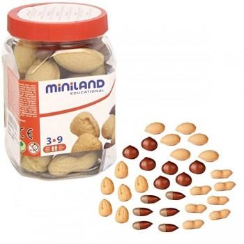 Bote con 30 piezas surtidas de frutos secos