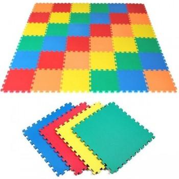 Plancha tapiz Eva 100x100x2,5 cm verde