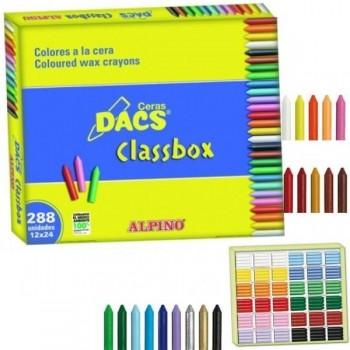 Classbox 288 colores de ceras blandas