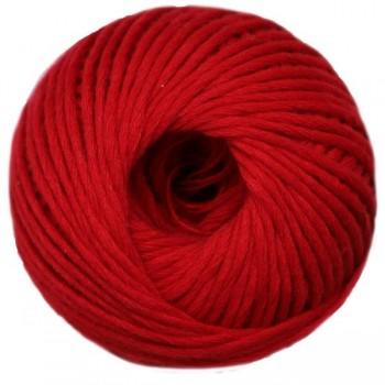 Bolsa 4 ovillos de lana gama color rojo
