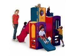 Juego exterior gran parque infantil multiactividades