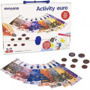 Maletín de actividades activity euro en matemáticas