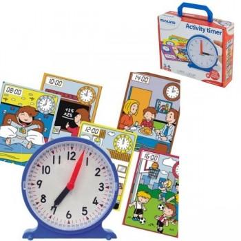 Reloj activity timer + fichas de actividades