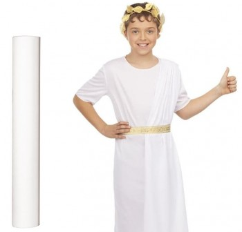 Material para disfraces Dressy Bond 0,8X25m blanco