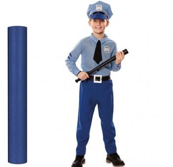 Material para disfraces Dressy Bond 0,8X25m azul tejano
