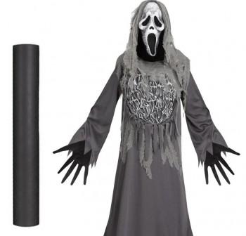 Material para disfraces Dressy Bond 0,8X25m gris