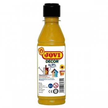 Bote de t mpera Jovidecor 250ml unicolor oro