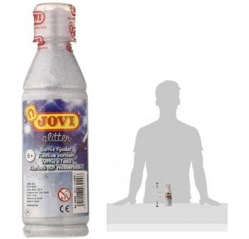 Botella de barniz glitter 250ml