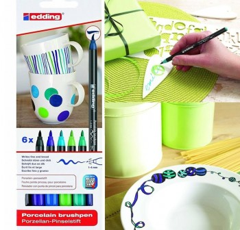 Blister rotuladores para porcelana colores Frios