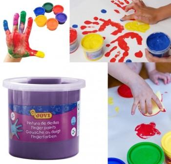Bote pintura a dedo Jovi 125ml violeta