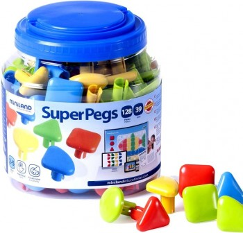 Bote 2600 pcs pegs de 10 mm