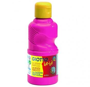 Botella tempera liquida giottobe-be 250 ml color magenta