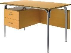 Mesa escolar modelo 239 haya 120x70x76 cm