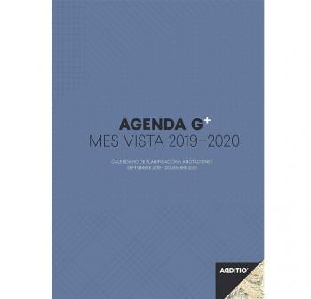 Additio Agenda G Plus para el profesorado mes a la vista, planificación 16 meses con hojas para anot