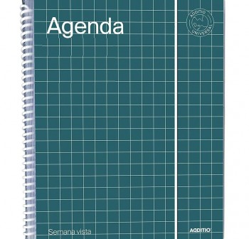 Additio Agenda Universal semana vista 16,5x21,5cm