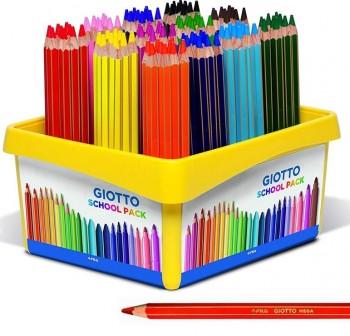 Giotto Caja School Pack 108 lápices de colores Giotto Mega colores surtidos