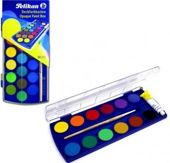 Pelikan Estuche 12 acuarelas Pelikan colores surtidos