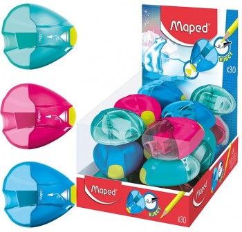Maped Sacapuntas Igloo Eject un orificio colores surtidos