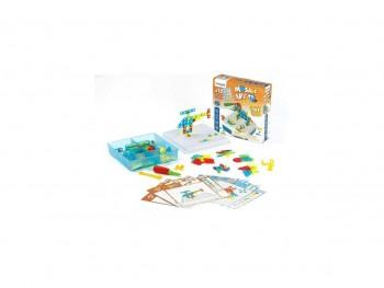 Miniland Caja 181 piezas con herramientas Mosaic Art 3D y 12 actividades de juego