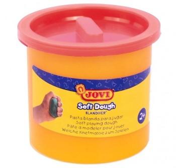 Bote de pasta blanda para modelar blandiver de 460gr naranja