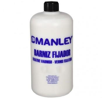 MANLEY Botella de barniz plasti-fijador 250ml