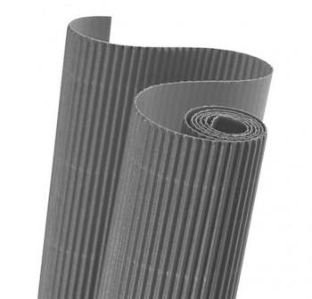 Blister 5 hojas cartón ondulado 50X70cm  gris