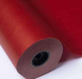 Rollo papel kraft gama coral 1x10 m rojo