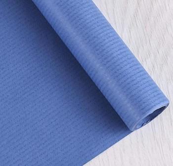 Rollo papel kraft gama nefertiti 1x5m azul azurita