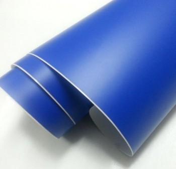 Rollo forro de Libros autoAdhesivo polipropileno 100 micras 0,5x3M azul