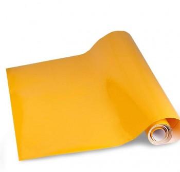 Rollo forro de Libros autoAdhesivo polipropileno 100 micras 0,5x3M amarillo