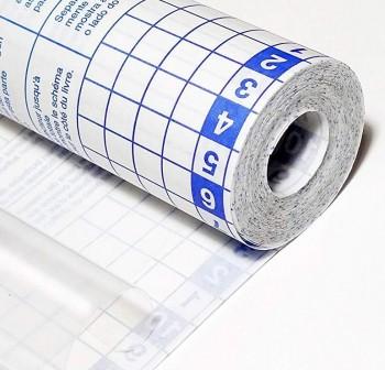 Rollo forro de Libros autoAdhesivo polipropileno 80 micras 0,5x20m transparente
