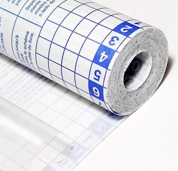 Rollo forro de Libros autoAdhesivo polipropileno 80 micras 0,5x3M transparente