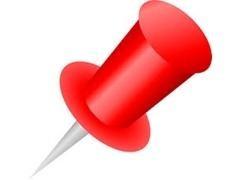 Caja 100 agujas Señalizadoras copa rojo