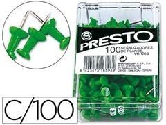 Caja 100 agujas Señalizadoras copa verde