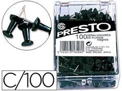 Caja 100 agujas Señalizadoras copa negro
