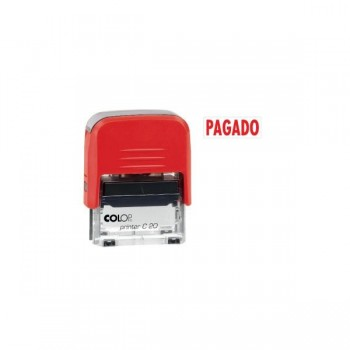 Sello automatico Colop pagado printer 20