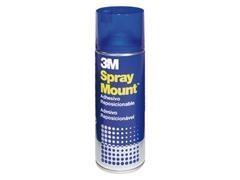 Adhesivo reposicionable en aerosol 3M spray mount 400ml