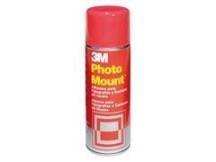 Adhesivo permanente en aerosol 3M photo mount 400ml