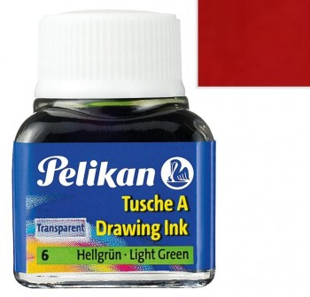 Pelikan Tintero tinta china 10ml bermellón