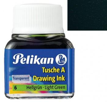 Pelikan Tintero tinta china 10ml verde oscuro