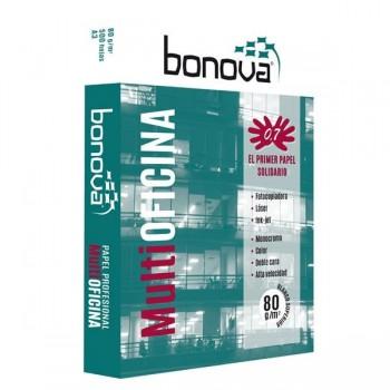 Paquete 500h papel multifunción Bonova 80gr A3