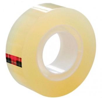 DEQUA Torre 8 rollos cinta adhesiva transparente 33mx19mm